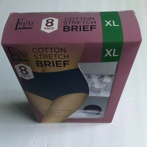Women's Cotton Stretch Modal Basic High Waist 8-PK